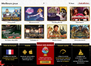 demo jeux du unique casino